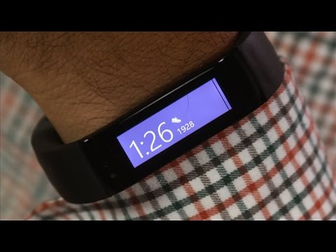 Fitness - http://cnet.co/1zk7CAG All-day heart rate tracking, UV sensors, downloadable workouts, sleep analysis, plus weather, Twitter, Facebook, and Starbucks: and it works on Windows, Android and iOS....