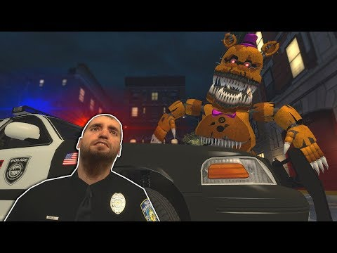 Garrys Mod - FIVE NIGHT'S AT FREDDY'S CITY ESCAPE! - Garry's Mod Multiplayer Gameplay - FNAF Gmod Survival