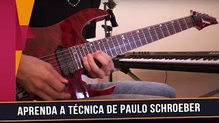 Vídeo aula em homenagem ao guitarrista Paulo Schroeber