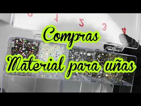 Uñas decoradas - COMPRAS MATERIAL PARA UÑAS/MINI COMPRAS DE UÑAS /LO NUEVO EN UÑAS /peña y peña