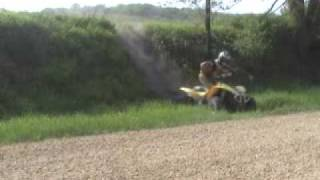 4. Riding Movie Polaris Scrambler 500 4X4 Insane Offroading 2