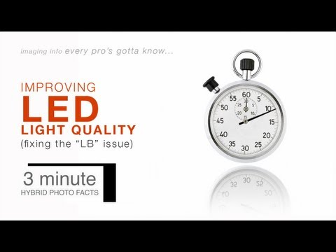 The 3 Minute Photographer – Will Crockett Talks LED Lights
