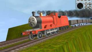 Video Thomas Trainz-James Down Hill MP3, 3GP, MP4, WEBM, AVI, FLV Juni 2017