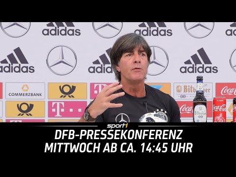 DFB-Pressekonferenz | 13.06. | WM 2018 | SPORT1