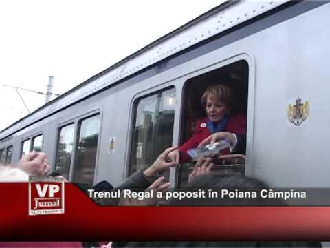 Trenul Regal a poposit şi în Poiana Câmpina