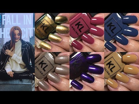 KL Polish Fall 2018 Fall in the City Collection | The Polished Pursuit
