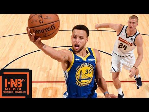 Golden State Warriors vs Denver Nuggets Full Game Highlights   10.21.2018, NBA Season