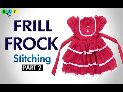 Video Frill Frock- Stitching (Part 2 of 2) download in MP3, 3GP, MP4, WEBM, AVI, FLV January 2017