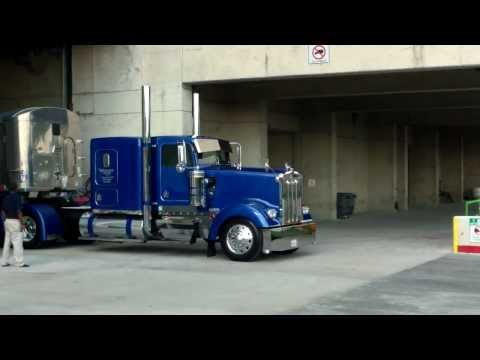 trucks - Some footage of the different trucks leaving the Dallas Convention Center after the show today.