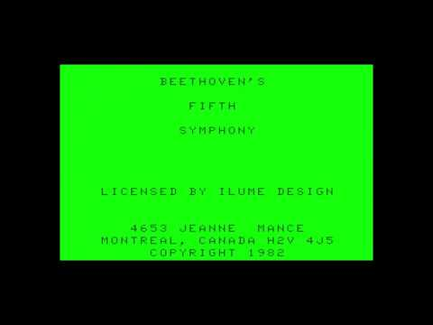 Self Playing Songs Collection (music demo) for the TRS-80 CoCo