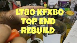 5. Suzuki LT80 top end rebuild Kawasaki KFX80