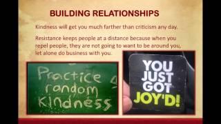 Lesson 11 Building Relationships