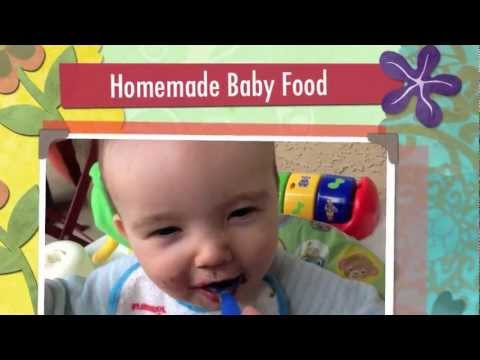 How To Make Homemade Baby Food Recipes for Naturally Healthy Babies