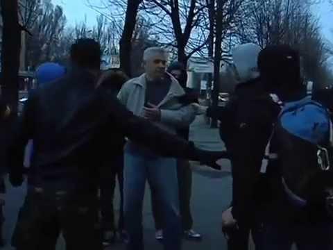 Рейды фашистов в масках по Днепропетровску