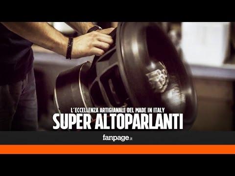 Super altoparlanti per auto, l'eccellenza artigianale del made in Italy