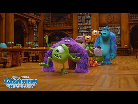 Library Task 📚 | Monsters University | Disney Channel UK