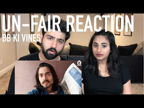 Bb Ki Vines | Un-fair Reaction | Reaction By Rajdeep. Very Important Video!