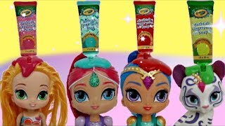 D.I.Y.  Carrel Bath Paints with Leah from Shimmer & Shine | Toys Unlimited