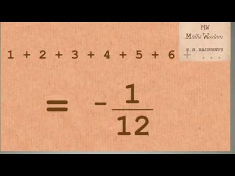 Proof of Ramanujan Infinite sum in hindi | The man who knew infinity