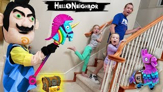 Video Hello Neighbor in Real Life Behind Closed Doors Fortnite Toy Scavenger Hunt!! MP3, 3GP, MP4, WEBM, AVI, FLV Maret 2019