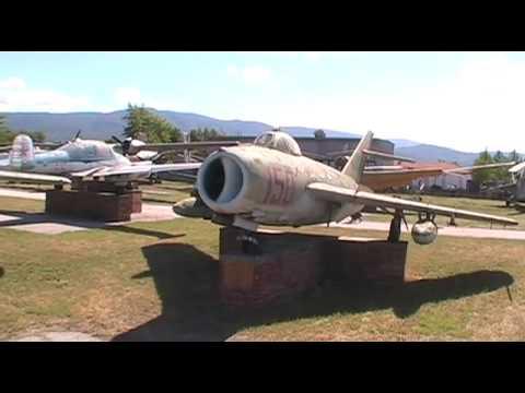 Lot of early jet era planes: Yak-23,...