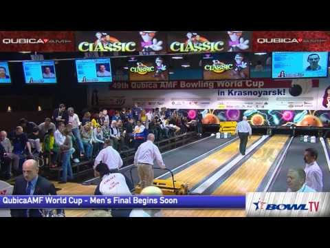 bowling - Watch the men's semifinal and final at the 2013 QubicaAMF Bowling World Cup from Krasnoyarsk, Russia. For more, go here: http://www.qubicaamf.com/World-Cup/K...