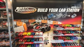 Build your own Fast and the Furious inspired toy car inside the Custom Gear Shop @ Universal!