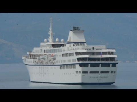 Στο Ναύπλιο το κρουαζιερόπλοιο Aegean Odyssey