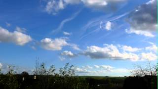 FRENCH CLOUDS (5) TIME LAPSE NUAGES FRANCAIS (5) 30 OCT. 2013
