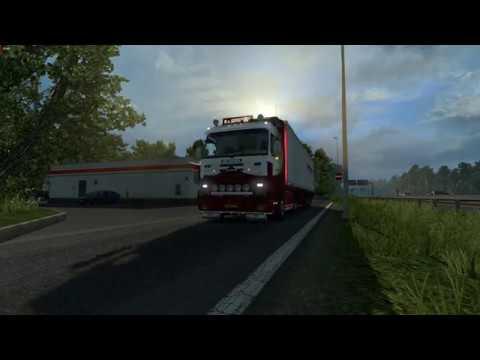 Scania 143m P.Setten skin + trailer v1.0