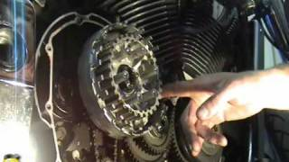 6. VTX 1800 and 1300 Clutch Replacement NSR Tech.wmv