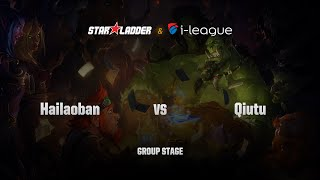 QiuTu (囚秃) vs Hailaoban, game 1