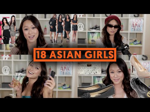 18 TYPES OF ASIAN GIRLS (видео)