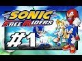 Sonic Free Riders Playthrough part 1: Team Heroes 1 2