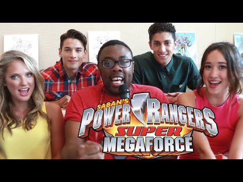 Power Rangers Super Megaforce Cast Interview : ...