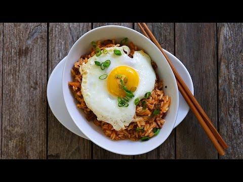 riso coreano con kimchi - ricetta