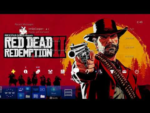 Red Dead Redemption 2 PS4 Theme (fan made)