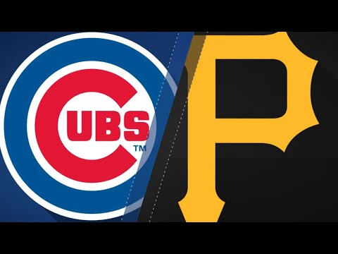 Cubs turn 7 double plays to beat Pirates: 8/17/18 (видео)