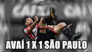 avai 1x1 são paulo brasileirão 2017 gol do hernanes deixa o like,compartilha e se inscreva no canal,valeu,falou!!! CANAL...