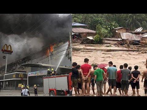 Mετρούν νεκρούς στις Φιλιππίνες