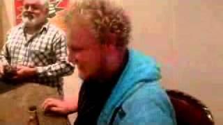 White guy speaks fluent Xhosa at a bar.