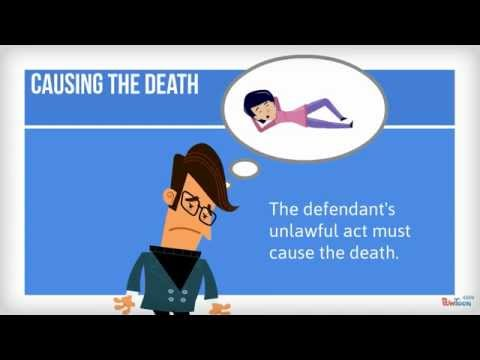 Manslaughter in English law