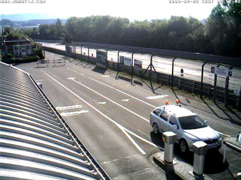 Nurburgring Webcam Timelapse taken 25th May 2009