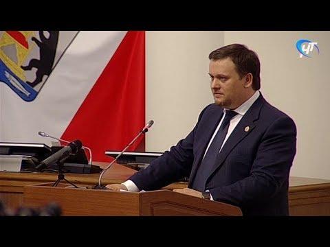 Андрей Никитин выступил с отчетом о результатах работы регионального правительства в прошлом году