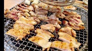 선릉맛집 – 숯불닭갈비 / Korean food - C…