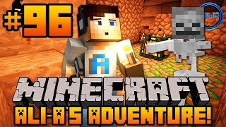 """Minecraft - Ali-A's Adventure #96! - """"GRINDING FOR XP!"""""""
