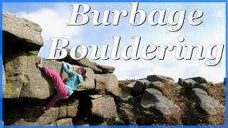 Bouldering at Burbage North by The Climbing Nomads