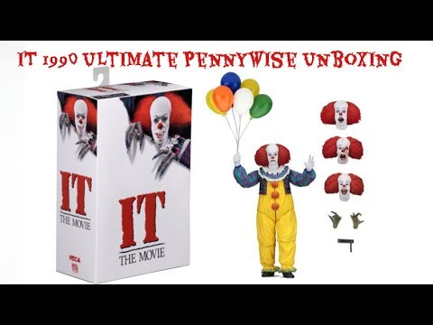 Neca 1990 Ultimate Pennywise Unboxing