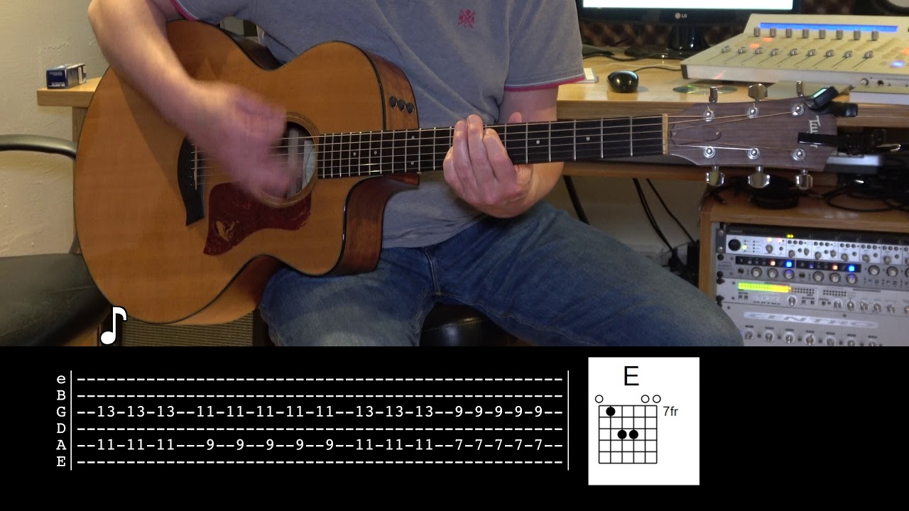 High and Dry – Acoustic Guitar – Radiohead
