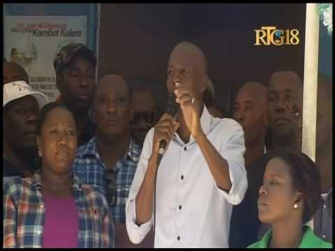 Le Président de la République, Jovenel Moïse a visité la commune de Maïssade, le samedi 6 mai 2017.